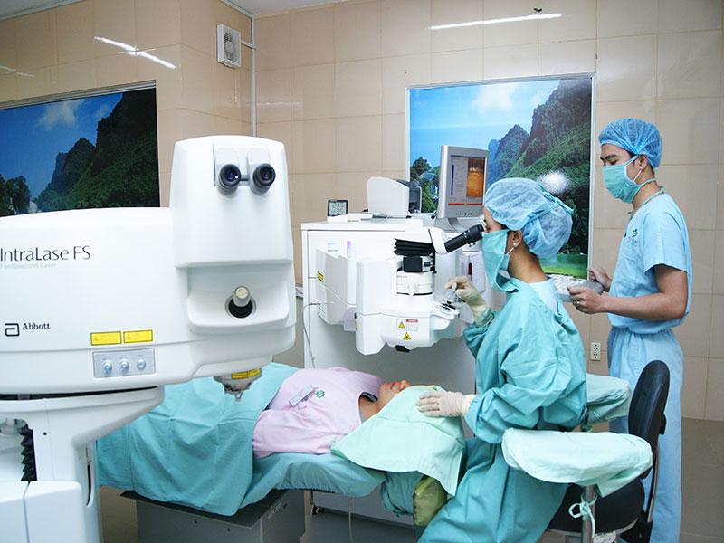 Bệnh viện Mắt Sài Gòn Vinh - Nghệ An