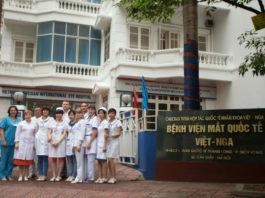 Bệnh viện Mắt Việt Nga kinh nghiệm khám mắt