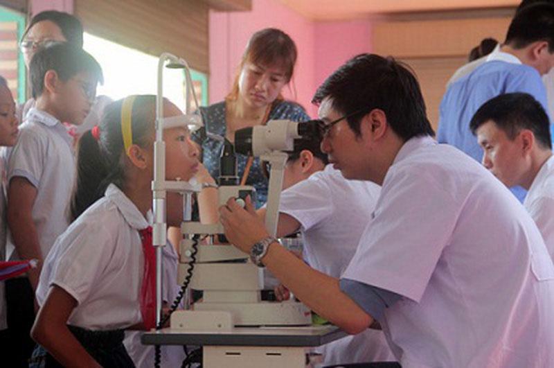 Bệnh viện Mắt Cao Thắng kinh nghiệm khám mắt
