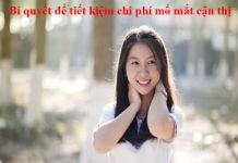 Mổ mắt cận thị giá bao nhiêu tiền từ TPHCM - Hà Nội