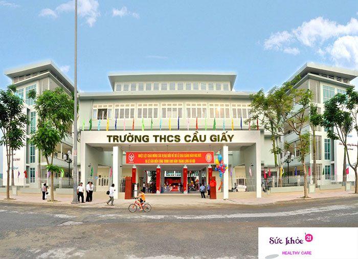 Trường Trung học cơ sở Cầu Giấy - Danh sách các trường trung học cơ sở ở Hà Nội