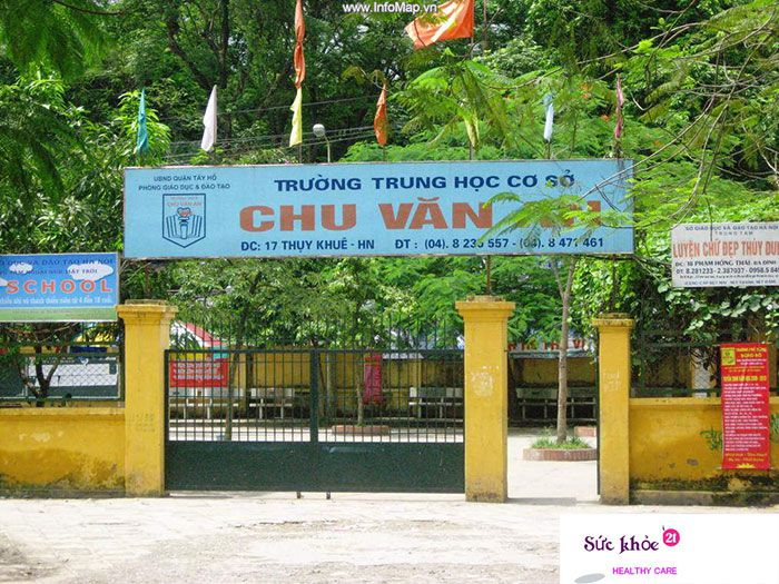Trường Trung học cơ sở Chu Văn An - các trường trung học cơ sở ở hà nội