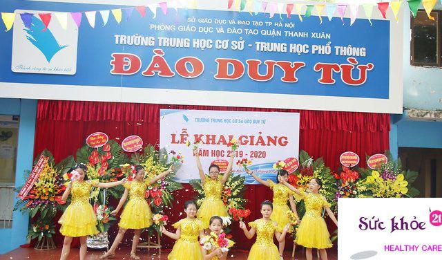 Trường Trung học cơ sởĐào Duy Từ - Danh sách các trường trung học cơ sở ở Hà Nội