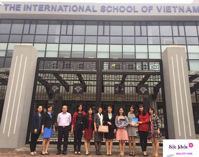 Trường Quốc tế Việt Nam ISV - danh sách các trường thcs quốc tế tại hà nội